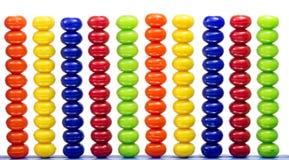 Grânulos coloridos Imagem de Stock