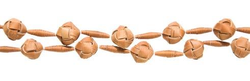 Grânulos da casca de vidoeiro Imagens de Stock