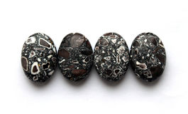Grânulos de mármore Imagem de Stock