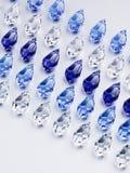 Grânulos de vidro brilhantes Imagem de Stock