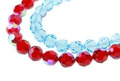 Grânulos de vidro brilhantes Imagem de Stock Royalty Free