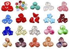 Grânulos de vidro checos típicos Fotos de Stock Royalty Free
