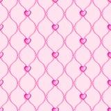Grânulos de vidro sem emenda cor-de-rosa Fotos de Stock