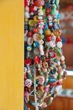 Grânulos Handmade imagem de stock