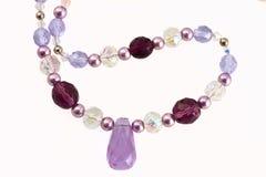 Grânulos violetas Imagens de Stock Royalty Free