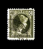 Grã-duquesa Charlotte, serie, cerca de 1926 Fotografia de Stock Royalty Free