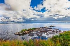 Gräsgårds Fischerei-Hafen, Oland, Schweden Stockfoto