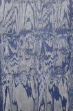 Grão azul madeira resistida Fotos de Stock Royalty Free