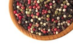 Grão bonita da pimenta Fotos de Stock