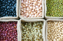 Grão, cereal, alimento saudável, comer da nutrição Foto de Stock