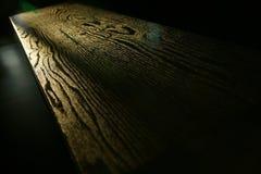 Grão da madeira da tabela Foto de Stock Royalty Free