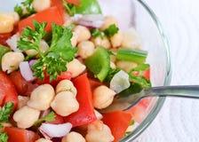 Grão-de-bico Bean Salad Foto de Stock Royalty Free