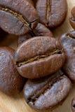 Grãos de café Imagem de Stock