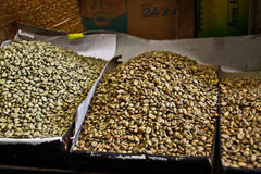 Grãos de café, Etiópia Fotografia de Stock