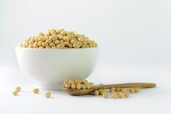 Grãos de soja Foto de Stock