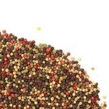 Grãos misturados da pimenta Foto de Stock