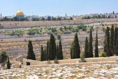 Gräber auf der Montierung der Oliven Lizenzfreies Stockbild