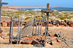Gräber im Namib Stockbilder