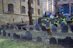 Gräberfelder für König ` s Kapellen-Freiheit schleppen Zeiten des Amerikanischen Unabhängigkeitskriegs Lizenzfreie Stockbilder