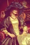 Gräfin im Palast Lizenzfreie Stockfotografie