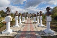 Gränd av hjältar Panino Ryssland Arkivfoton