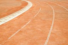 Gränd för rinnande sport Royaltyfria Foton