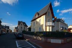 Gränd i Deauville Royaltyfri Fotografi