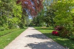 Gränd i den King's trädgården i Versailles, Frankrike Royaltyfria Foton