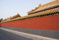 Gränd i Forbiddenet City Arkivbilder
