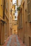 Gränd i Monaco Arkivbild