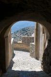 Gränd i Sant'Antonino royaltyfria bilder