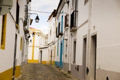 Gränd Portalegre Portugal Royaltyfri Fotografi