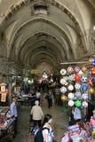 Gränd till de stora moskéerna arkivbild