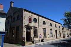 Gränden Lancaster för hed för hertigteaterbyggnad arkivbild