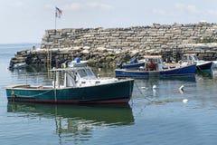 Grändliten vik - Rockport, MOR Royaltyfria Bilder