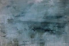 Gräns - blå grungy målningbakgrund eller textur royaltyfri foto