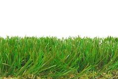 Gräns för astro för gräs konstgjord isolerad torva arkivbild