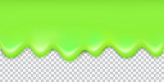Gräns för slam för skinande gräsplan för vektor flödande med skugga som isoleras på vektor illustrationer