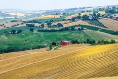 Gränser (Italien), landskap Royaltyfria Foton