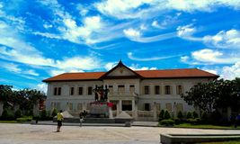 gränsmärke av chiangmaien Royaltyfri Bild