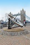 Gränsmärke London Royaltyfri Foto