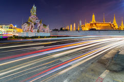 Gränsmärken av Bangkok royaltyfri fotografi
