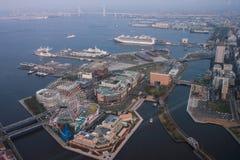 Gränsmärketorn, Yokohama Japan, Minato Mirai Royaltyfri Bild