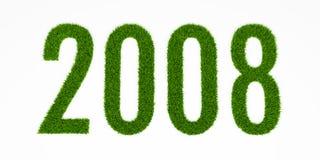 gräs 2008 Arkivbild