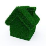 gräs det gröna huset Arkivfoton