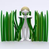 gräs hugger Royaltyfria Foton