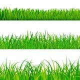 gräs seten vektor illustrationer