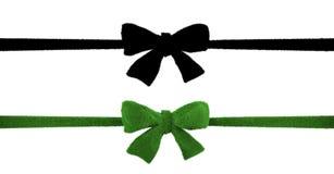 Gräs-täckt banddesign, grönt bandbegrepp Arkivbilder