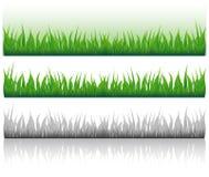 gräsbild stock illustrationer
