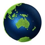 Gräsjord - Australien Arkivfoto